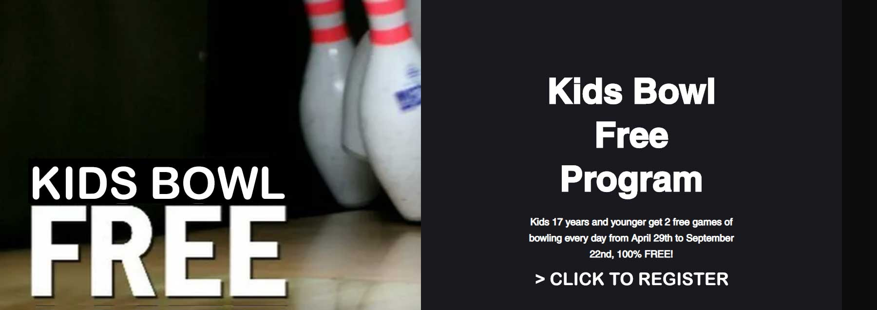 Kids Bowl Free - Food, Fun, Bowling, Laser Tag, Arcade